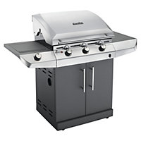 Char-Broil 3 Burner Performance T-36G Silver BBQ - Home Delivery
