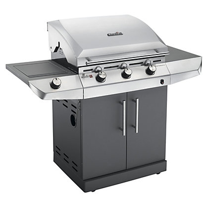 Image for Char-Broil 3 Burner Performance T-36G Silver BBQ - Home Delivery from StoreName