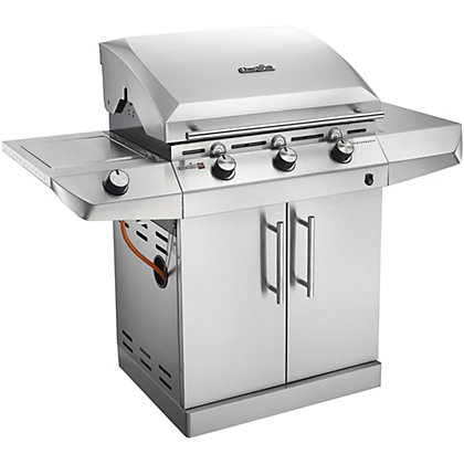 Image for Char-Broil Performance T365 3 Burner with Side Burner Gas BBQ - Silver from StoreName