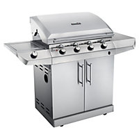 Char-Broil 5 Burner Performance T-47G Silver BBQ - Home Delivery
