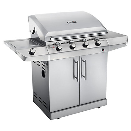 Image for Char-Broil 5 Burner Performance T-47G Silver BBQ - Home Delivery from StoreName