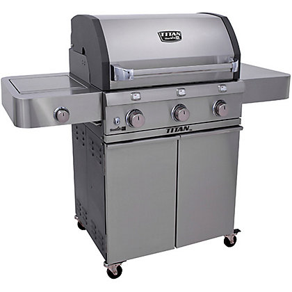 Image for Char-Broil T5000 Gas BBQ - Silver from StoreName