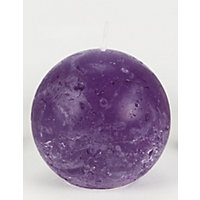 Bolsius Rustic Ball Candle - Purple