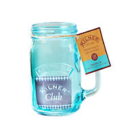 Kilner Blue Handled Jar - 400ml