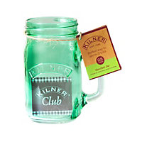 Kilner Handled Jar Green - 400ml