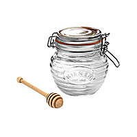Kilner Clip Top Honey Pot with Dipper - 0.35L