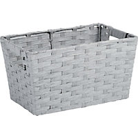 Small Grey Paper Basket