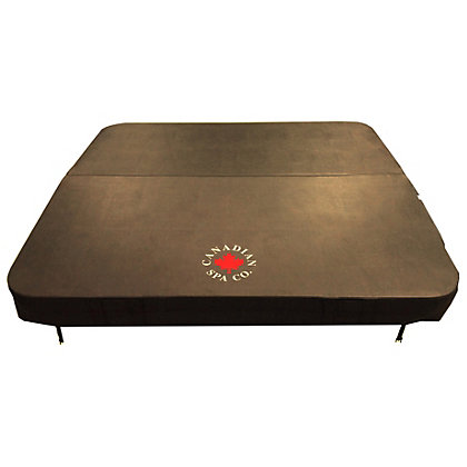 Image for Canadian Spa Company Brown Spa Cover - 82 x 82in from StoreName