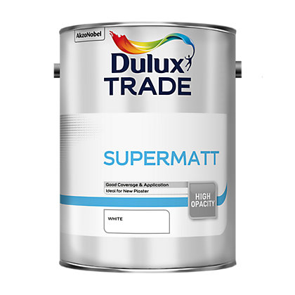 Image for Dulux Trade Supermatt White - 5L from StoreName