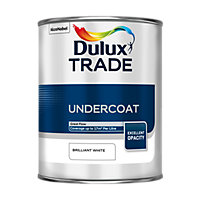 Dulux Trade Undercoat Brilliant White Paint - 1L