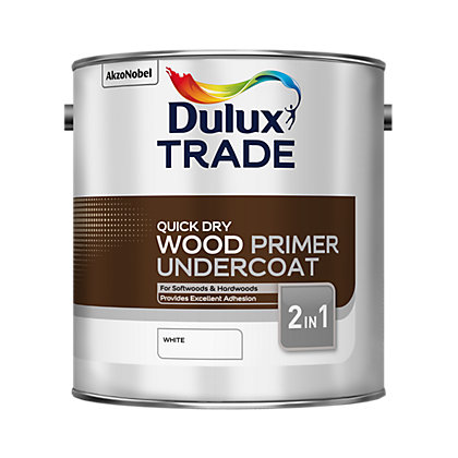 Image for Dulux Trade Wood Primer Undercoat Quick Dry - 2.5L from StoreName