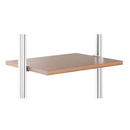 Image for Relax Shelf Kit with Brackets - Walnut - 550x500mm from StoreName