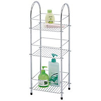 3 Tier Chrome Plated Storage Unit