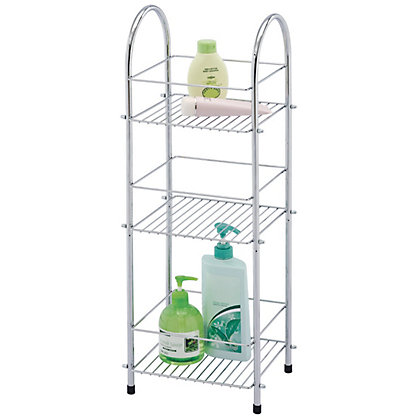 Image for 3 Tier Chrome Plated Storage Unit from StoreName