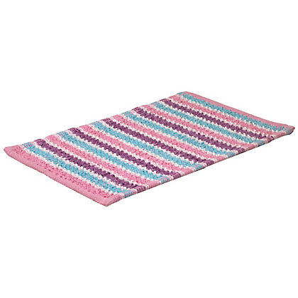 Image for Ink Blossom Bath Mat from StoreName