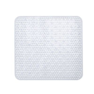 Square Clear Shower Mat