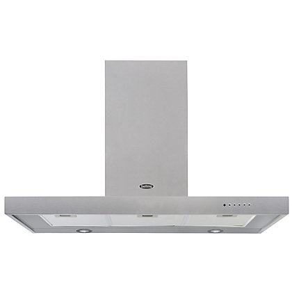 Image for Belling 444443459 100cm DB Flat Hood - Stainless Steel from StoreName