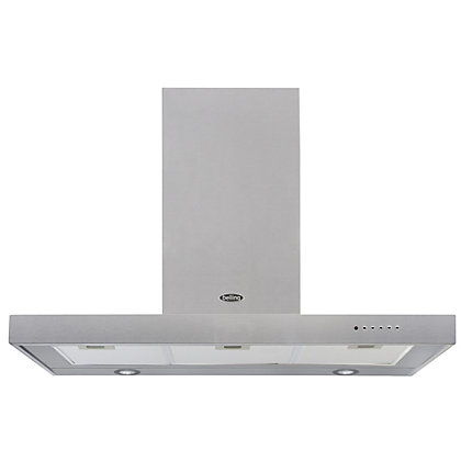 Image for Belling DB Flat Chimney Hood - 90cm - Stainless steel from StoreName