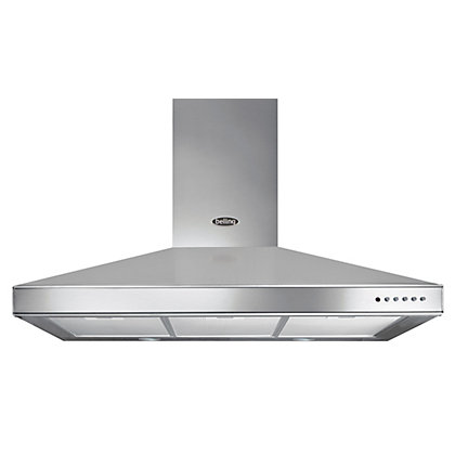 Image for Belling Chimney Hood - 100cm - Stainless Steel from StoreName