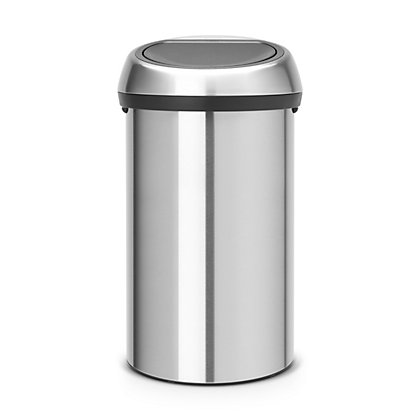 Image for Brabantia Touch Bin - 60L - Matte Stainless Steel from StoreName