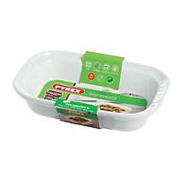 Pyrex Impressions White Roaster Dish - 22x14cm