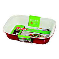 Pyrex Impressions Red Roaster Dish - 31x20cm