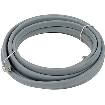 Image for Twin and Earth Cable 10.0 sq mm 6242YH Grey 5m from StoreName