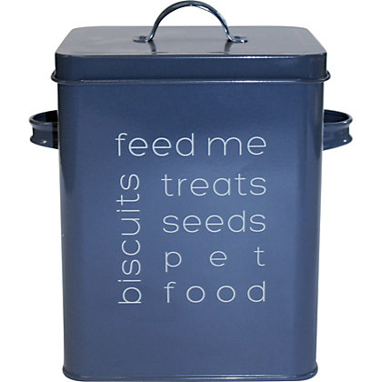 Image for Potting Shed Storage Tin - Dark Blue from StoreName