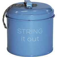 String It Out Tin - Light Blue