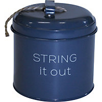 String It Out Tin - Dark Blue