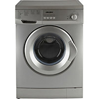 Bush F621QS 6KG Washing Machine- Silver/Ins/Del/Rec.