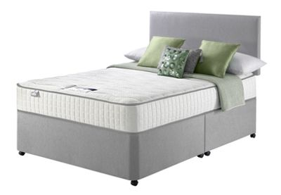 Image of Silentnight Harding Pocket Comfort Double Divan Bed.