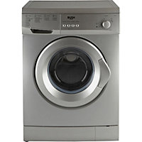 Bush F721QS 7KG Washing Machine- Silver/Ins/Del/Rec.
