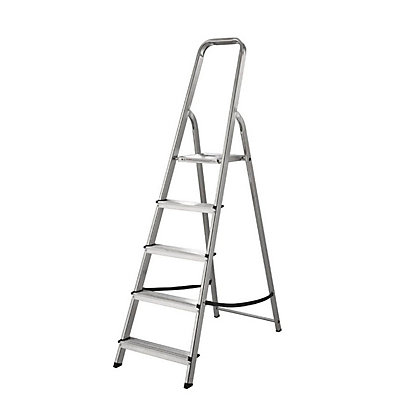 Image for Abru 5 Tread High Handrail Stepladder from StoreName