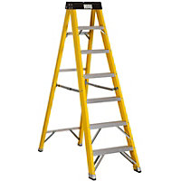 Abru Fibreglass Stepladder 7 Tread