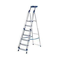 Abru 7 Tread Work Station Stepladder