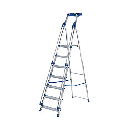 Image for Werner 7 Tread Work Station Stepladder from StoreName
