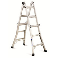 Abru 4x3 Multi-Purpose Telescopic Combination Ladder