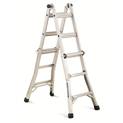 Image for Werner 4x3 Multi-Purpose Telescopic Combination Ladder from StoreName
