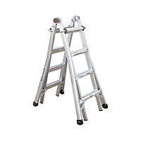 Werner 4x4 Multi-Purpose Telescopic Combination Ladder