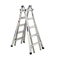 Werner 4x5 Multi-Purpose Telescopic Combination Ladder