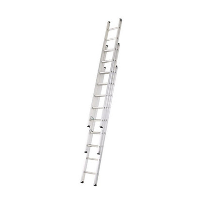 Image for Abru 2.57m Professional Triple Extension Ladder from StoreName