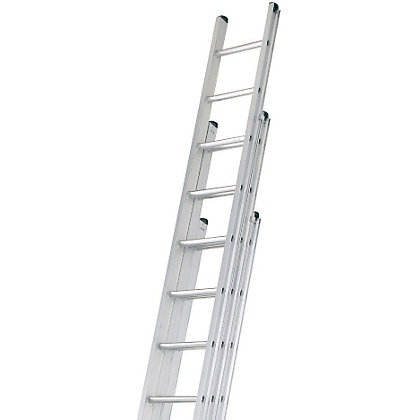 Image for Abru 3.1m Professional Triple Extension Ladder from StoreName