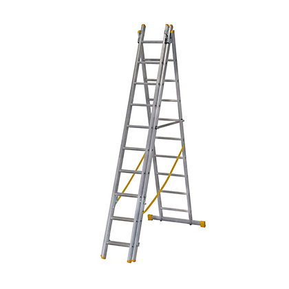 Image for Werner ExtensionPLUS™ X4 2.97m Triple Box Section Reform Combination Ladder from StoreName