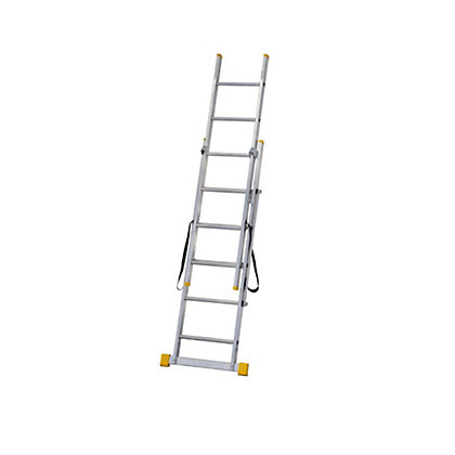 Image for Werner ExtensionPLUS X3 1.85m Double Box Section Reform Combination Ladder from StoreName