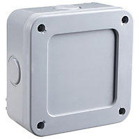 Masterplug IP66 Junction Box with 5 Way Terminal Block