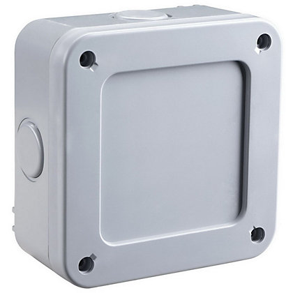 Image for Masterplug IP66 Junction Box with 5 Way Terminal Block from StoreName