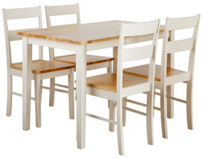 Chicago Dining Table and 4 Two Tone Chairs : 437884RZ001largeampwid800amphei800 from kitchenappliancedirect.co.uk size 800 x 800 jpeg 41kB