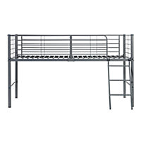 Lucas Mid Sleeper Bed Frame - Grey.