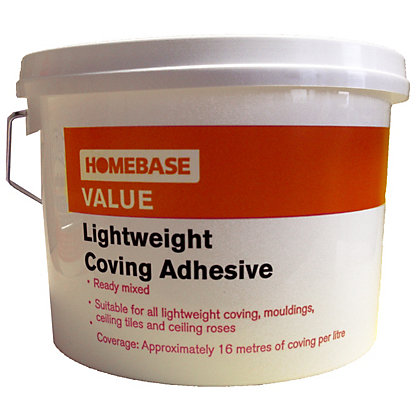 Image for Homebase Value Lightweight Coving Adhesive - 2.5L from StoreName